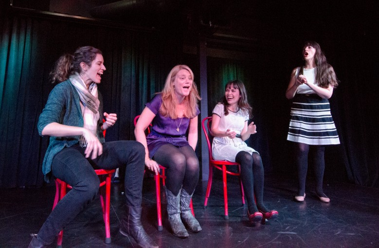 unscripted comedy theater